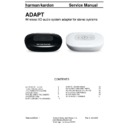 Harman Kardon ADAPT (serv.man2) Service Manual