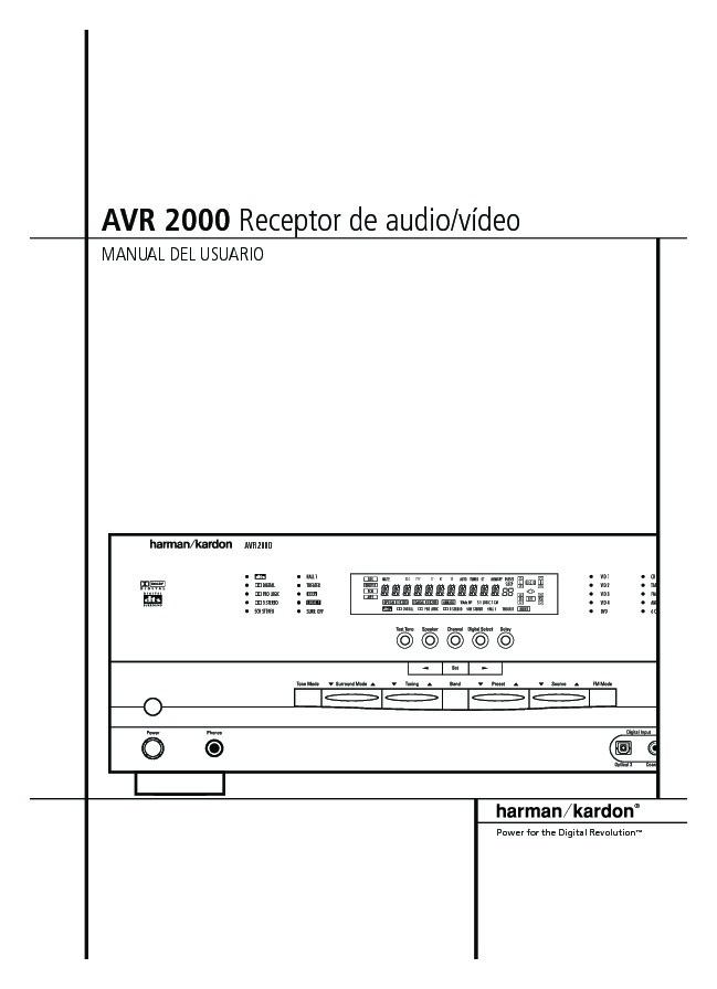 harman kardon avr 2000 serv man7 user guide operation manual rh servlib com Harman Kardon AVR 1650 Harman Kardon AVR 1650