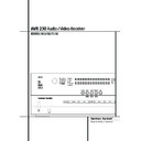 Harman Kardon AVR 230 (serv.man2) User Guide / Operation Manual