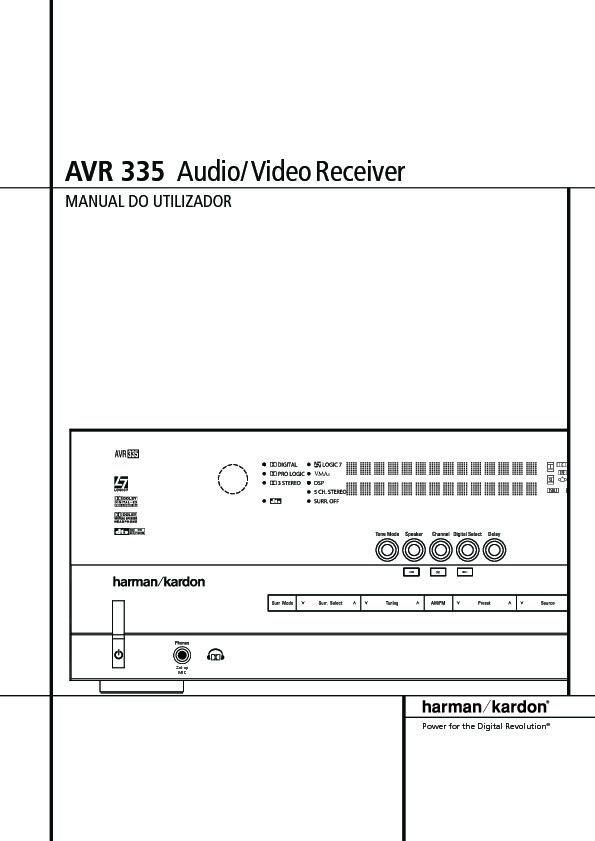 harman kardon avr 335 serv man7 user guide operation manual rh servlib com avr 335 service manual avr 435 manual