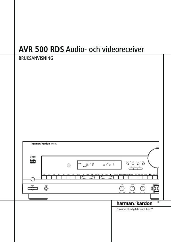 harman kardon avr 500 serv man3 user guide operation manual rh servlib com harman kardon avr 500 rds service manual Harman Kardon AVR 2700