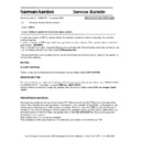Harman Kardon CDR 2 (serv.man2) Technical Bulletin