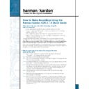Harman Kardon CDR 2 (serv.man25) User Guide / Operation Manual
