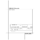 Harman Kardon CDR 20 (serv.man12) User Guide / Operation Manual