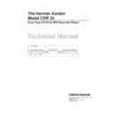 Harman Kardon CDR 20 (serv.man13) Service Manual
