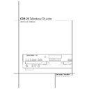 Harman Kardon CDR 20 (serv.man2) User Guide / Operation Manual