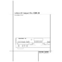 Harman Kardon CDR 20 (serv.man4) User Guide / Operation Manual