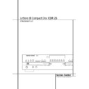 Harman Kardon CDR 25 (serv.man11) User Guide / Operation Manual