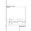 Harman Kardon CDR 25 (serv.man12) User Guide / Operation Manual