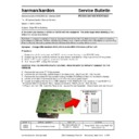 Harman Kardon CDR 25 (serv.man2) Technical Bulletin