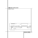 Harman Kardon CDR 25 (serv.man5) User Guide / Operation Manual
