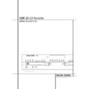 Harman Kardon CDR 25 (serv.man7) User Guide / Operation Manual