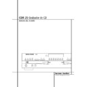 Harman Kardon CDR 25 (serv.man8) User Guide / Operation Manual