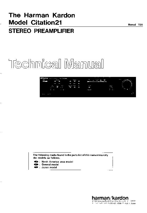 harman kardon citation 21 service manual view online or download rh servlib com Hobart User Manuals California Citation Manual
