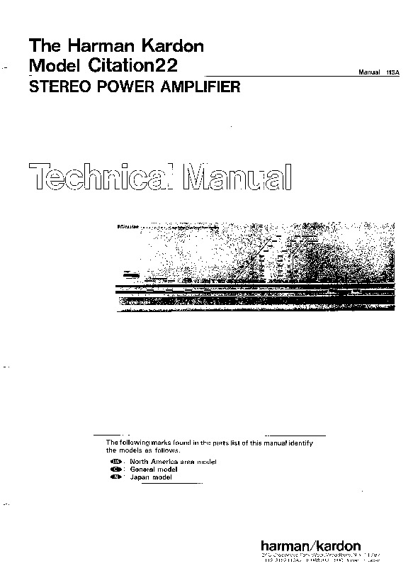 harman kardon citation 22 service manual view online or download rh servlib com MLA Citation Manual MLA Ciation Manual