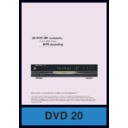 Harman Kardon DVD 20 (serv.man5) Info Sheet