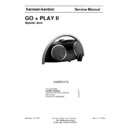 Harman Kardon GO AND PLAY II (serv.man4) Service Manual