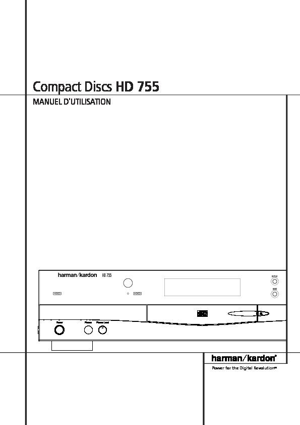 harman kardon hd 755 serv man4 user guide operation manual rh servlib com