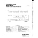 Harman Kardon HK 3250 Service Manual
