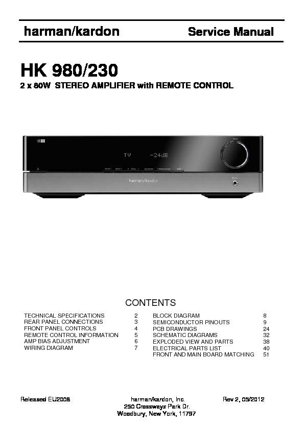 harman kardon hk 980 serv man5 service manual view online or rh servlib com