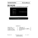 Harman Kardon SB 26 Service Manual