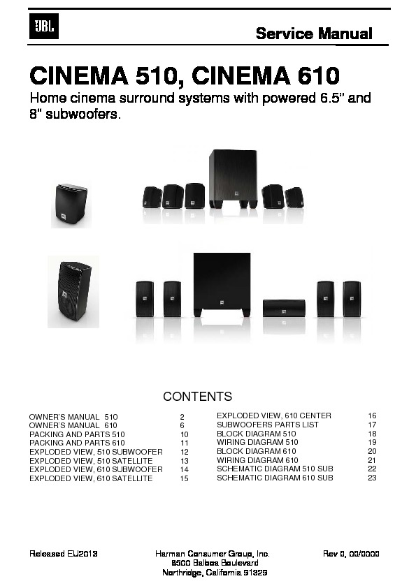 JBL CINEMA 610 (SERV.MAN2) Service Manual — View online or ... on bose subwoofer wiring, car stereo wiring, hp subwoofer wiring, powered subwoofer wiring, infinity subwoofer wiring, pyle subwoofer wiring, polk audio subwoofer wiring, sony subwoofer wiring, mtx subwoofer wiring, blaupunkt subwoofer wiring, home subwoofer wiring, dual subwoofer wiring, jl audio subwoofer wiring, jbl speakers, kicker subwoofer wiring, car subwoofer wiring, pioneer subwoofer wiring, rockford fosgate subwoofer wiring,