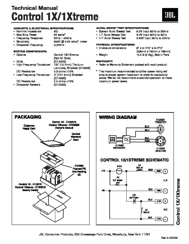JBL XTREME Service Manual — View online or Download repair
