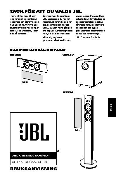 jbl css10 serv man7 user guide operation manual view online or rh servlib com