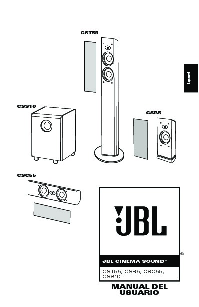 jbl cst55 serv man12 user guide operation manual view online rh servlib com