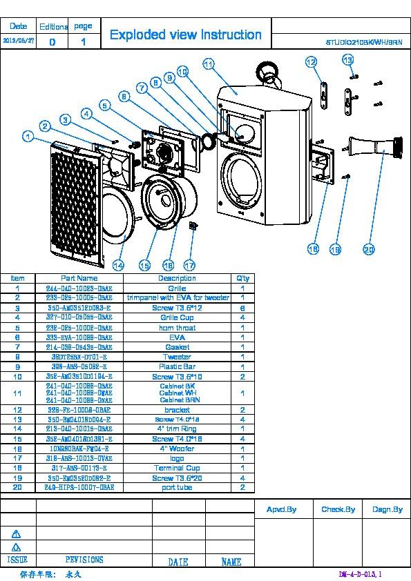 Harman Kardon AURA STUDIO Service Manual — View online or