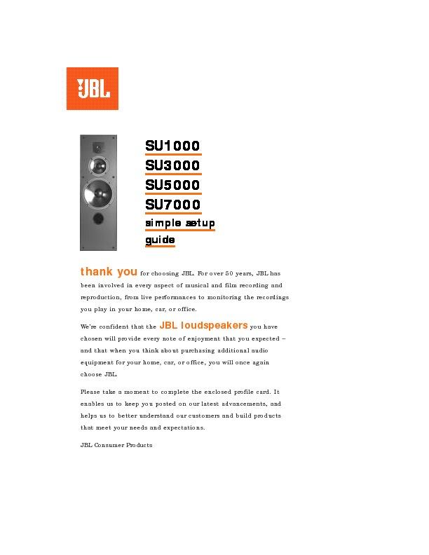 jbl su 5000 user guide operation manual view online or download rh servlib com live office 4.1 user guide business objects live office user guide