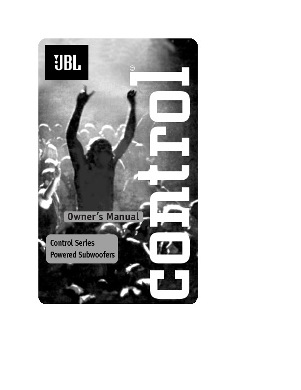 jbl sub 10 user guide operation manual view online or download rh servlib com JBL Subwoofer Boxes JBL Subwoofer Boxes