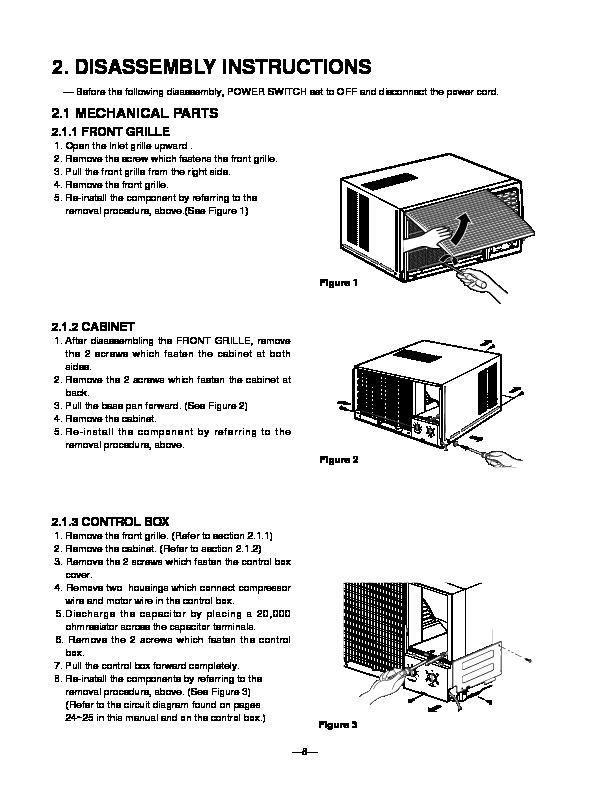 lg lwc1262phg lwc1262acg n p service manual view online or rh servlib com lg split air conditioner service manual lg air conditioner service manual pdf
