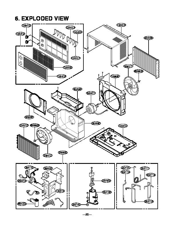 Lg Air Conditioner Service Manuals