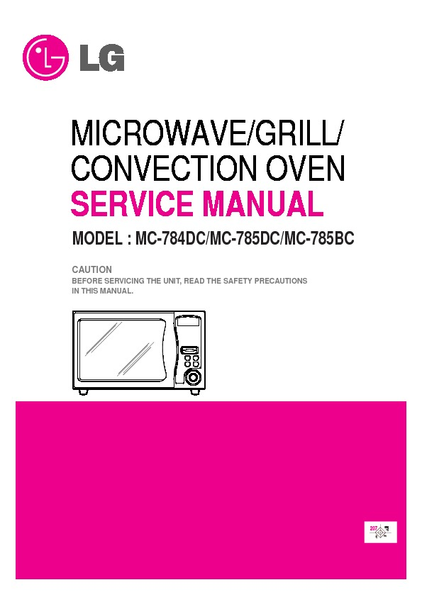 lg mc 785bc service manual view online or download repair manual rh servlib com LG Refrigerator Parts LG Washing Machine Parts