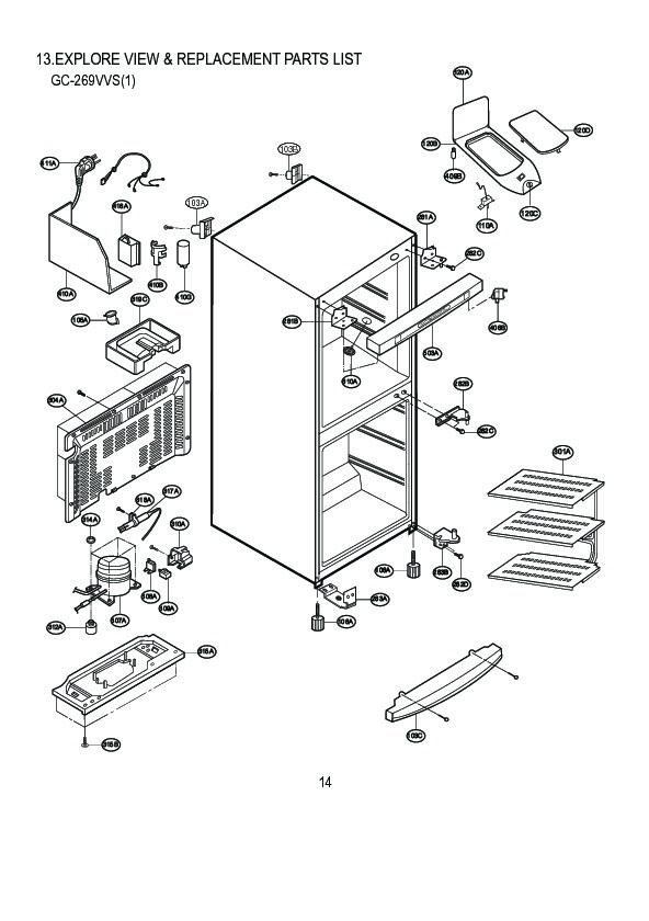 lg refrigerator service manuals and schematics  u2014 repair