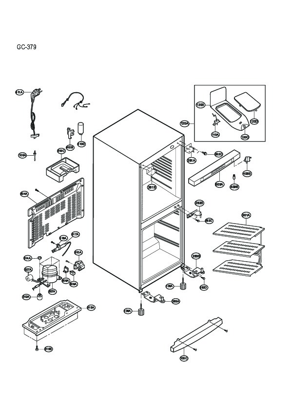 lg refrigerator service manuals and schematics  u2014 repair