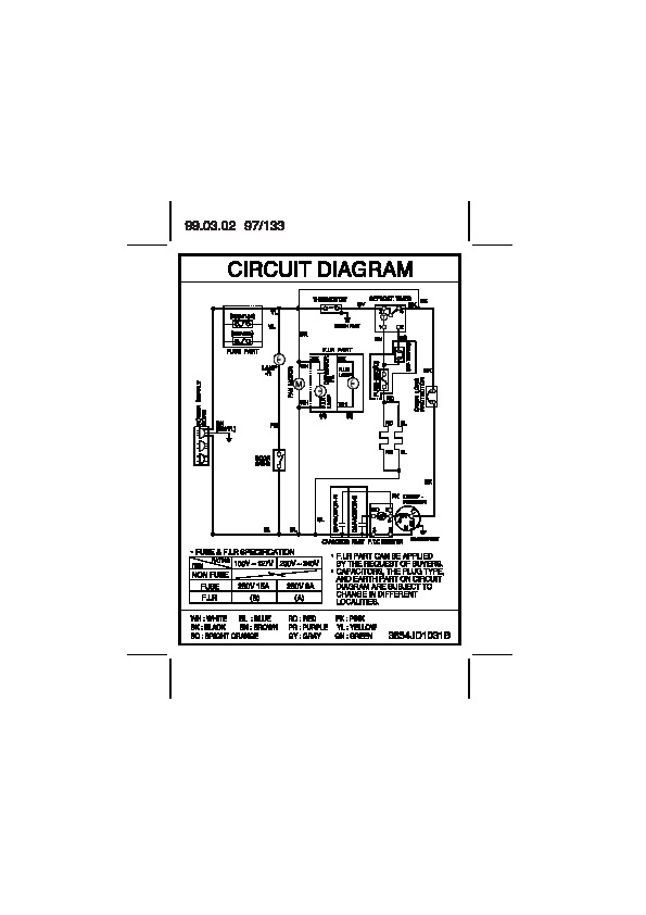 [DIAGRAM_1CA]  LG GR-322W Service Manual — View online or Download repair manual | Lg Refrigerator Compressor Wiring Diagram |  | Service Manuals and Schematics