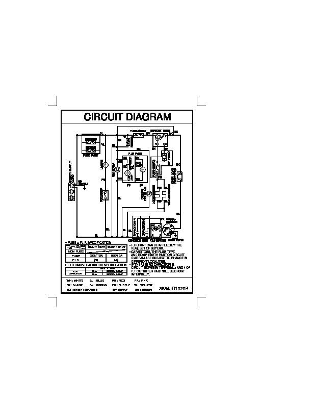 Lg Refrigerator Service Manuals And Schematics  U2014 Repair Information For Electronics Technicians