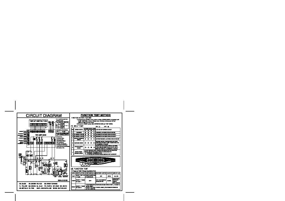 Lg Gr 642tvpf Service Manual View Online Or Download Repair Refrigerator Schematics