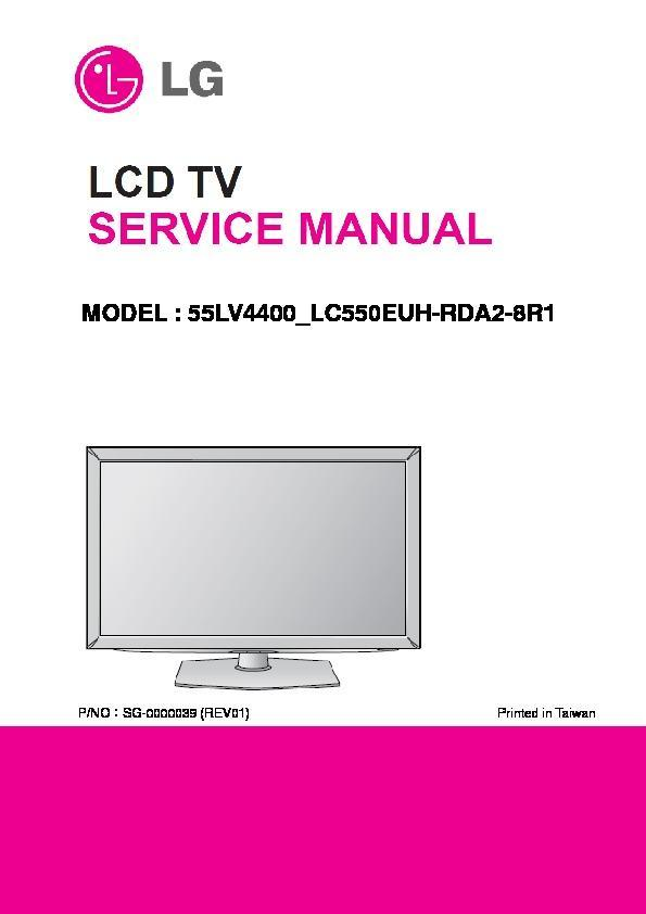 lg 55lv4400 lc550euh rda2 8r1 service manual view online or rh servlib com LG GS170 Manual LG Phone Manuals User Guides