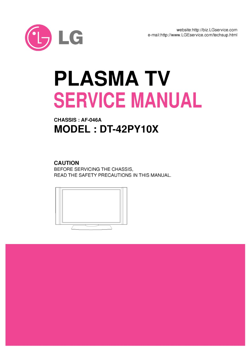 Lg Tv Service Manuals Page 153