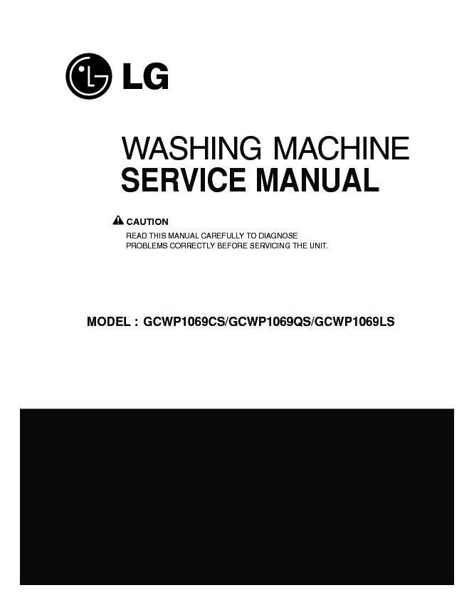 Lg Gcwp1069cs2  Gcwp1069qs2  Gcwp1069ls2 Service Manual  U2014 View Online Or Download Repair Manual