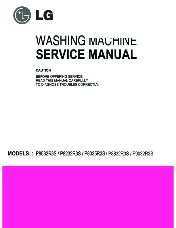 Lg P9032r3s Service Manual  U2014 View Online Or Download Repair Manual