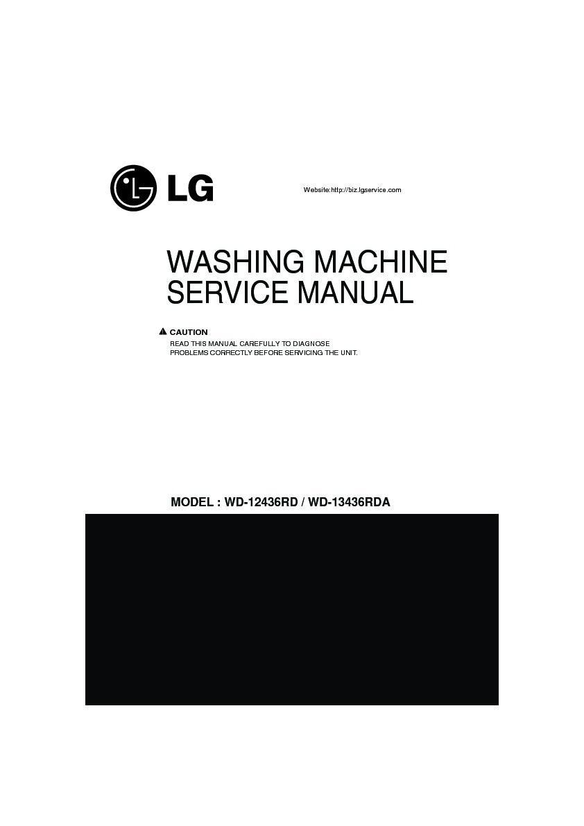 wd-13436rda service manual
