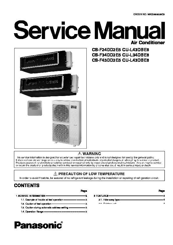 Panasonic CS-F24DD2E5