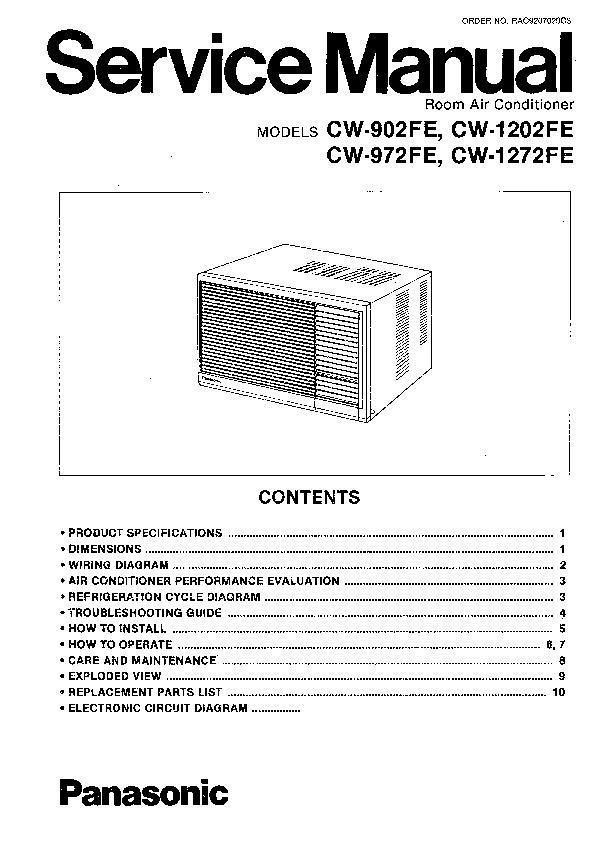 Panasonic CW-A180EG