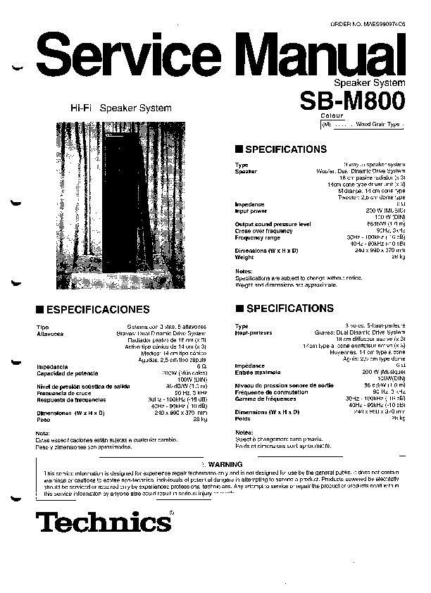 panasonic sb m800 service manual view online or download repair manual rh servlib com Nikon SB 28Dx Speedlight Nikon SB 28Dx Flash