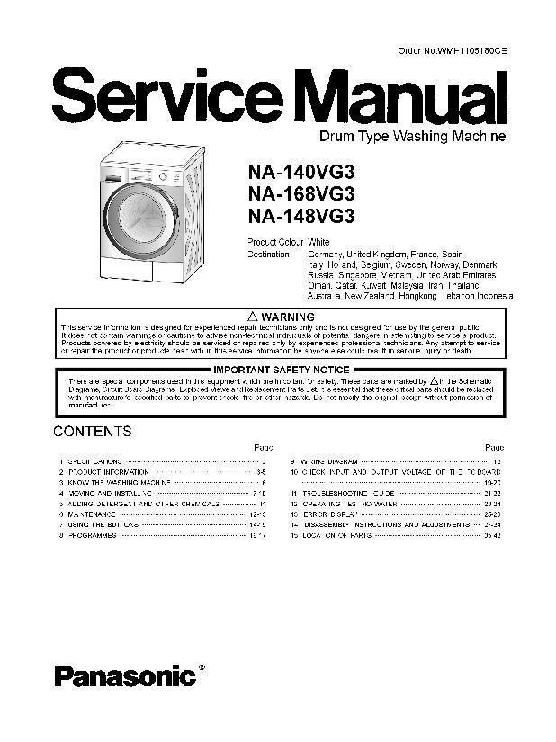 panasonic na 140vg3wru na 148vg3wru na 168vg3wru service manual rh servlib com Panasonic Fax Machines Models Panasonic Fax Machines Models