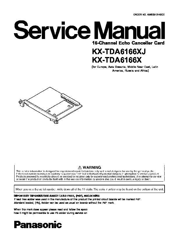 panasonic pbx wiring diagram panasonic kx tda6166xj  kx tda6166x service manual     view online  panasonic kx tda6166xj  kx tda6166x